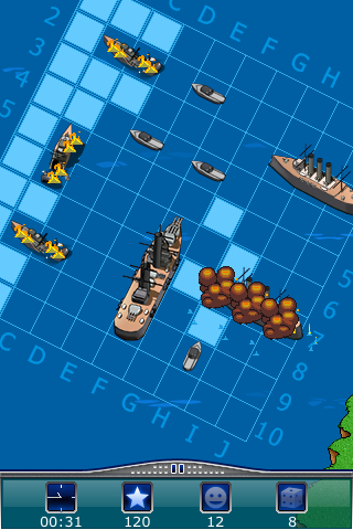 Screenshot Warships – Sea on Fire! Review
