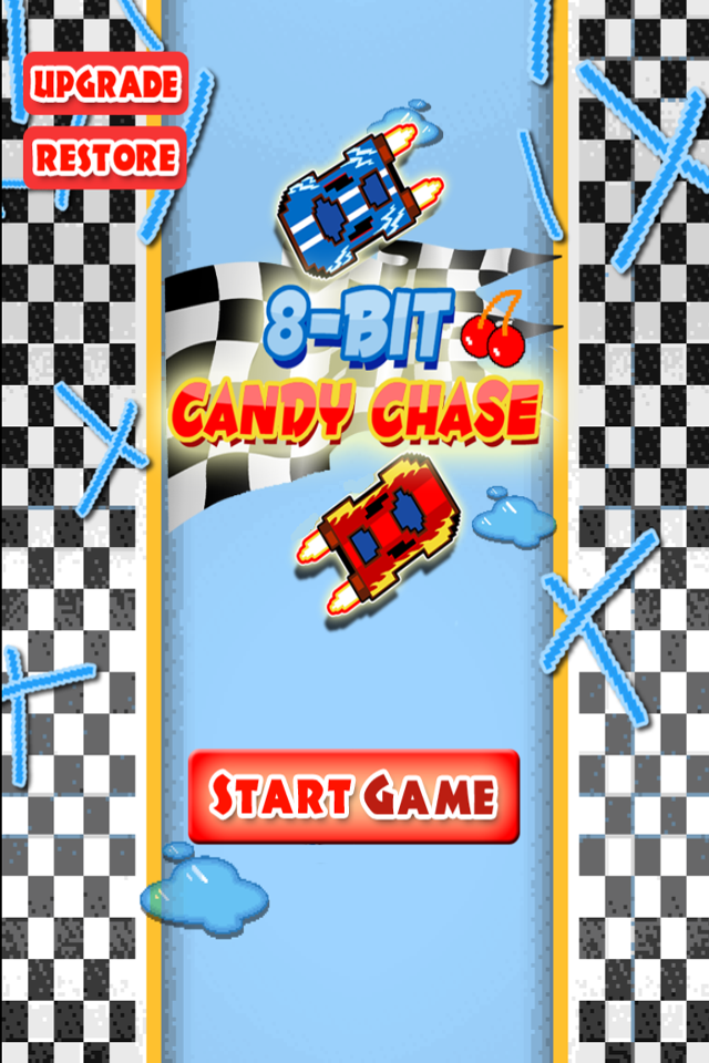 8-Bit Candy Chase - Real Nitro Track Race - Racing Game / Gratis
